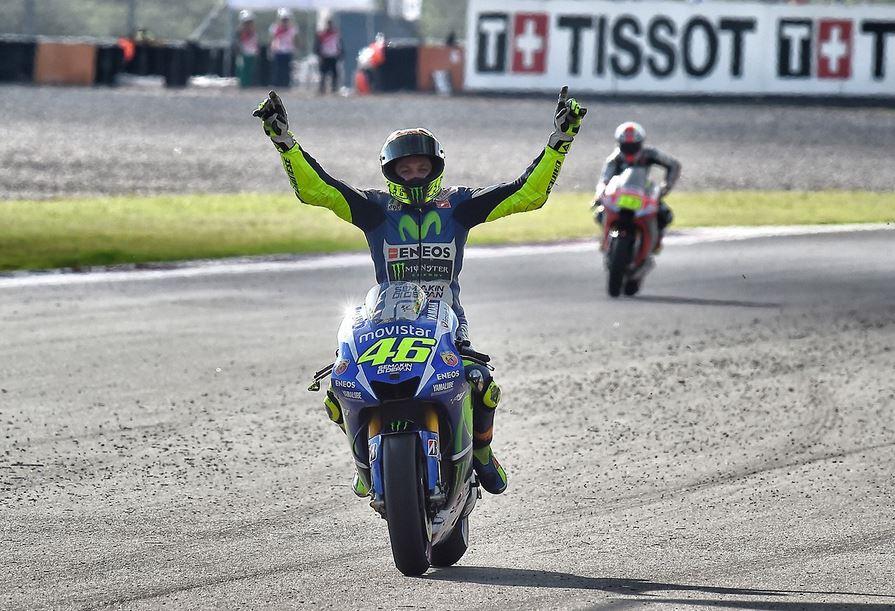 Donnez une moto à Rossi, il l'amènera jusqu'à la victoire !