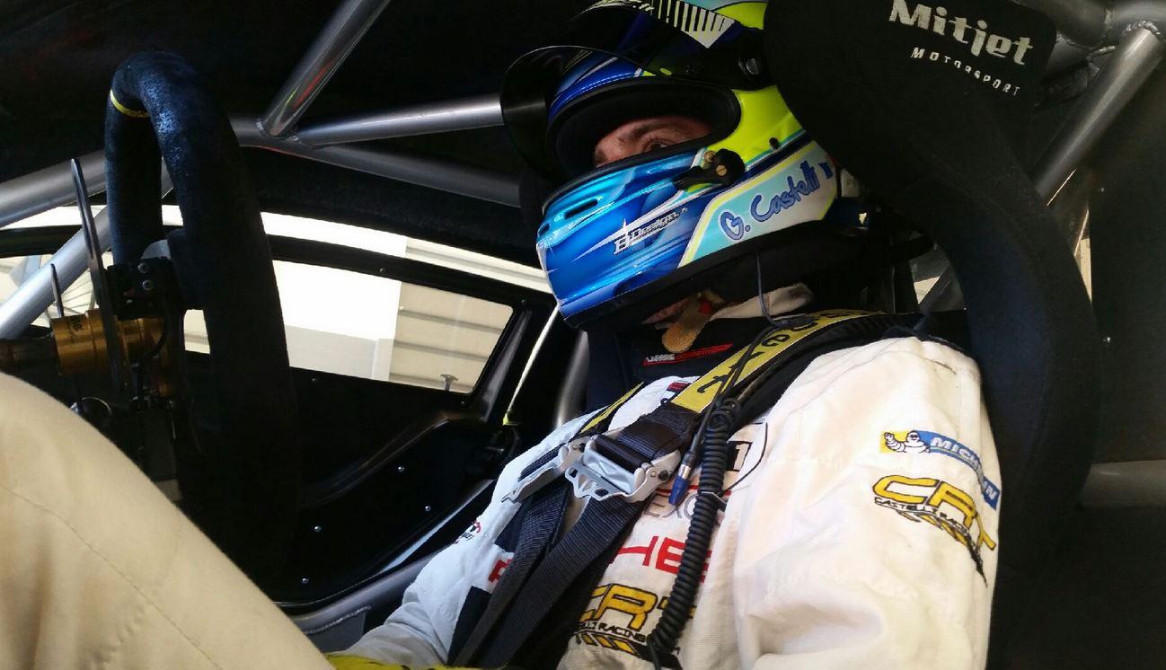Gaël Castelli de retour derrière un volant