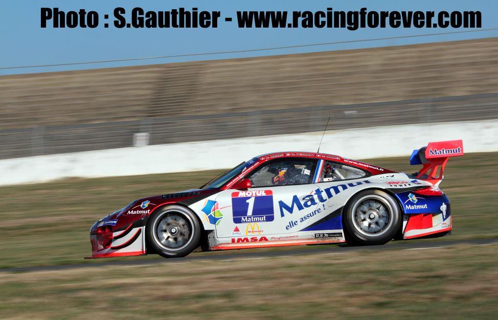 La Porsche Matmut de Dumez/Pernaut/Narac s'impose en course 1