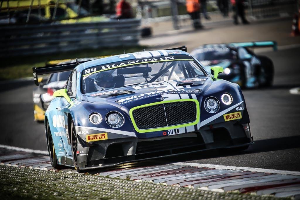 Le Bentley des champions 2015 (Photo Blancpain Media)