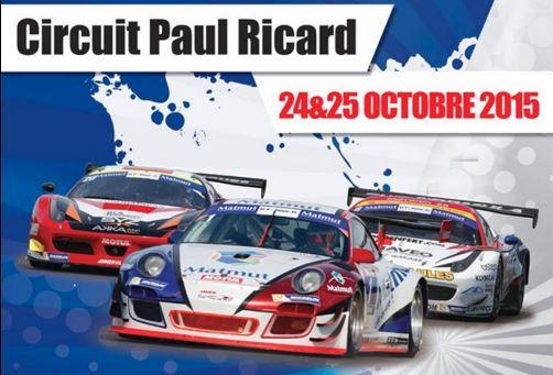 GT Tour : Paul Ricard, les horaires