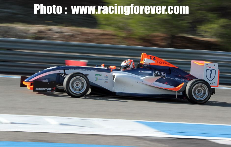 Moineault champion F4 2015