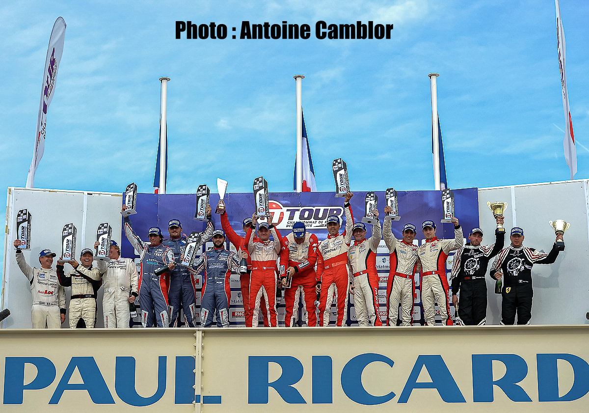 3e place au Paul Ricard en course 1