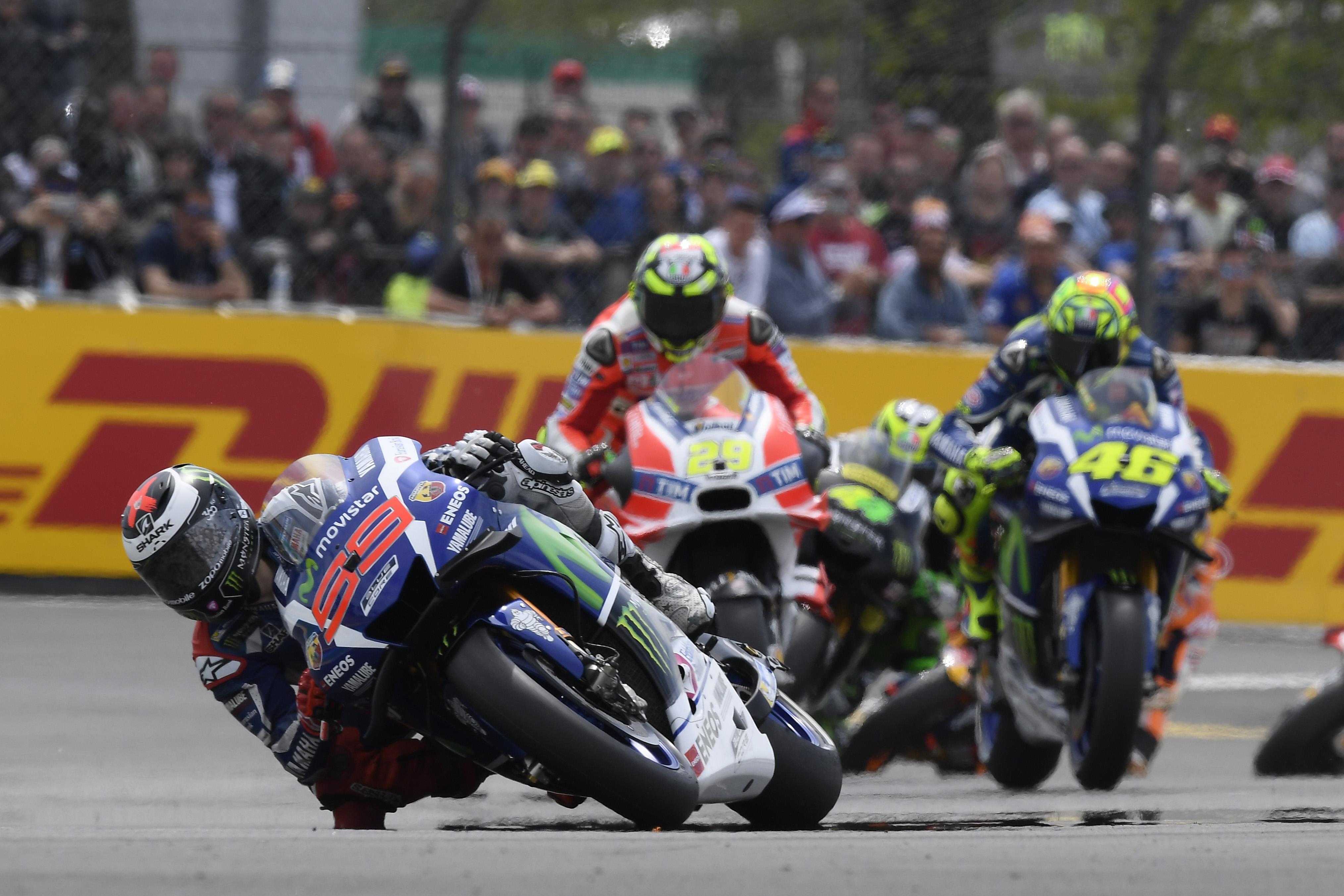 Jorge Lorenzo retrouve sa place préféré en MotoGP : Premier !