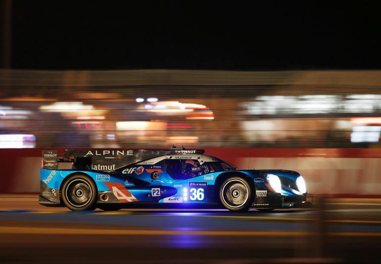 La victoire d'Alpine en LMP2 parait possible (Photo DPPI)