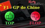 F1 : Les tops et les flops du GP de Chine