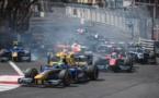 Le départ d'une course F2 à Monaco