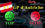 F1 : Les tops et les flops du GP d'Autriche