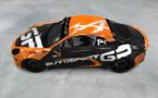 Une Alpine aux couleurs d'Autosport GP