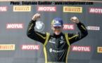Dorian Guldenfels est régulièrement sur les podiums de la Clio Cup