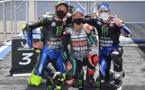 Triplé Yamaha et nouvelle victoire pour Quartararo
