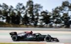 Lewis Hamilton en route vers la victoire © AMG-Mercedes F1