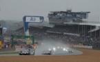 La course a démarré sous Safety Car durant 52' à cause de la pluie. (Photo A.Camblor)