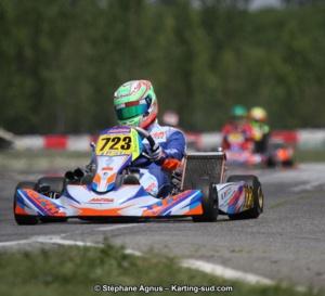 Karting KZ2 : Jérémy Lopes renoue avec la victoire