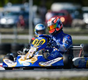 Kart KZ2 : Bon début en championnat d'Europe pour P.Loubère