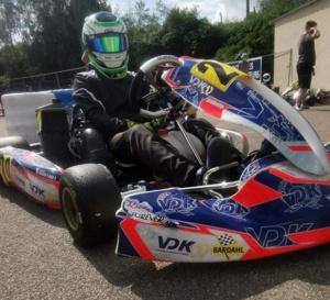 Kart : Axel Gouesmel enchaîne les podiums