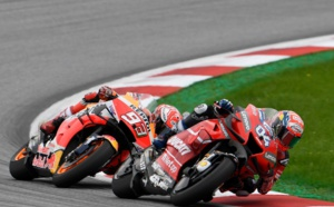 Un nouveau duel dantesque entre Marquez et Dovizioso ( Photo Gold & Goose/Red Bull Content Pool)