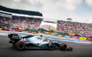 Hamilton se rapproche du titre © AMG Mercedes F1