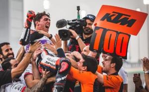 100e victoire pour KTM