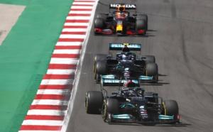 Hamilton a dominé la course – photo AMG Mercedes-F1