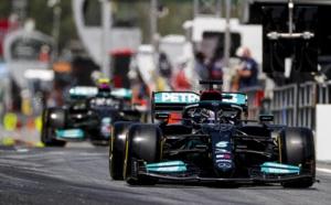 Et de 100 pôles pour Lewis Hamilton © AMG-Mercedes F1