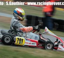 Kart KZ2 : Pierre Loubère déjà dans le rythme