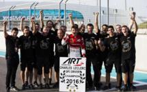 GP3 : Charles Leclerc titré à Abou Dabi