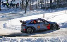 WRC : Monté-Carlo, Neuville en tête au 2e jour