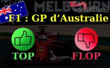 F1 : Les tops et les flops du GP d'Australie