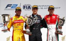 F2 : Bahrein, course 1, victoire de Markelov