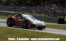 FFSA GT - GT4 Sud : Parisy/Vannelet sur le podium
