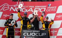 Clio Cup : Week-end fantastique pour TB2S à Nogaro