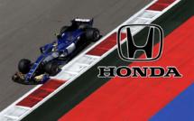 F1 : Sauber signe avec Honda pour 2018