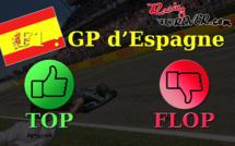 F1 : Les tops et les flops du GP d'Espagne