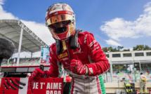 F2 : Bakou, course 1, victoire de Leclerc