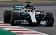 F1 : GP d'Espagne, victoire de Hamilton