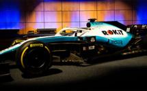 F1 : Williams présente ses nouvelles couleurs