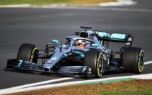F1 : La nouvelle Mercedes en piste à Silverstone