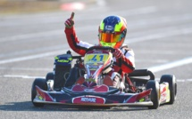 Kart : victoire du jeune pilote Arthur Poulain