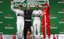 F1 : GP de Chine, victoire de Hamilton
