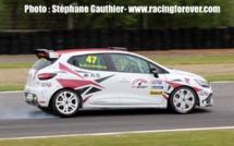 Clio Cup : Dorian Guldenfels gagne la seconde course à Nogaro