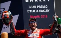 MotoGp : Première victoire de Petrucci au Mugello