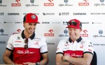 F1 : Raikkonen et Giovinazzi prolongent avec Alfa Roméo