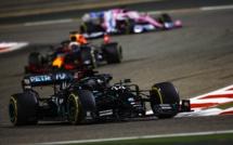 F1 : GP de Bahrein, victoire de Hamilton, Grosjean miraculé