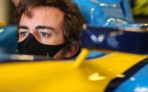 F1 : Fernando Alonso victime d'un accident en vélo
