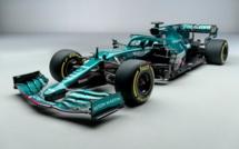 F1 : Aston Martin sur la ligne de départ