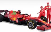 F1 : Ferrari présente la SF21