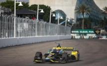 Indycar : St Petersburg, victoire de Colton Herta