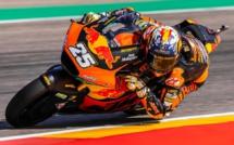 Moto2 : Raul Fernandez fait cavalier seul en Aragon