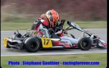 Karting : Nationale, rudes combats pour Thomas Drouet